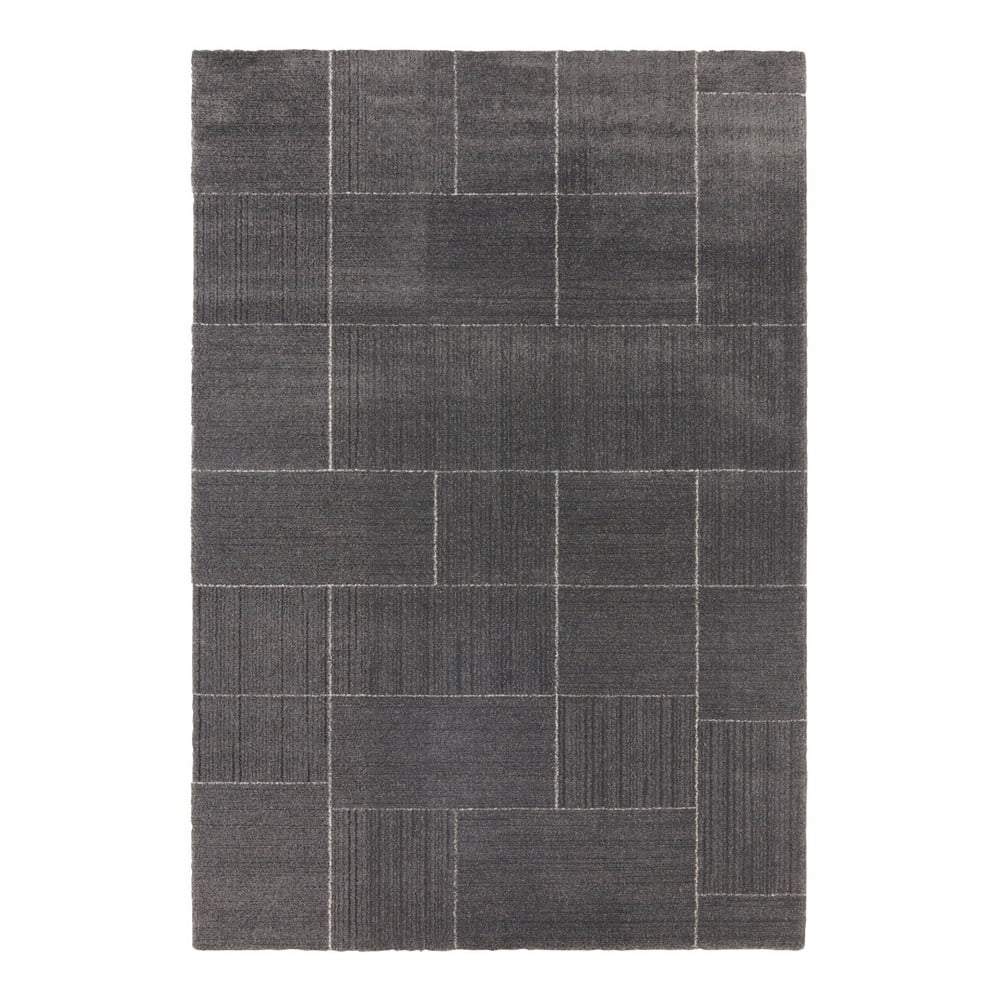 Tmavosivý koberec Elle Decor Glow Castres, 160 x 230 cm