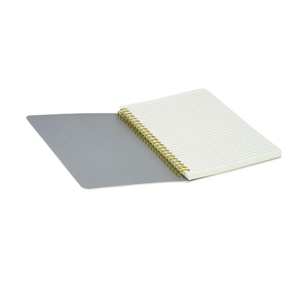Zápisník Stockholm Spiral, sivý