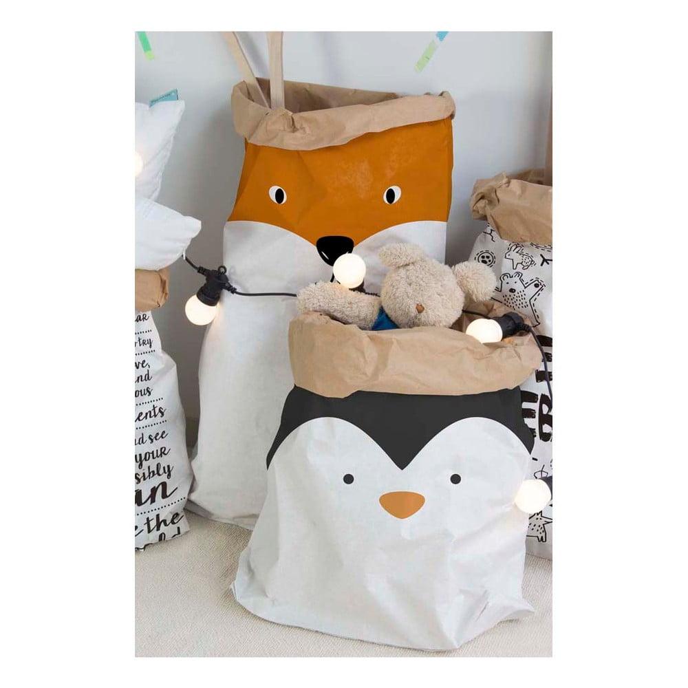 papierov vrece little nice things penguin bonami. Black Bedroom Furniture Sets. Home Design Ideas