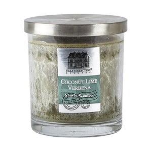 Sviečka s vôňou  kokosovej limetky a verbeny Villa Collection