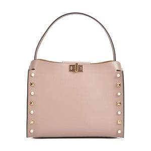 Ružová kožená kabelka Sofia Cardoni Marissa
