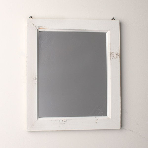 Zrkadlo White Days, 34x39 cm