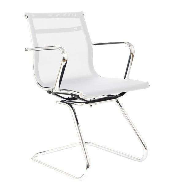 Pracovná stolička Leila, biela