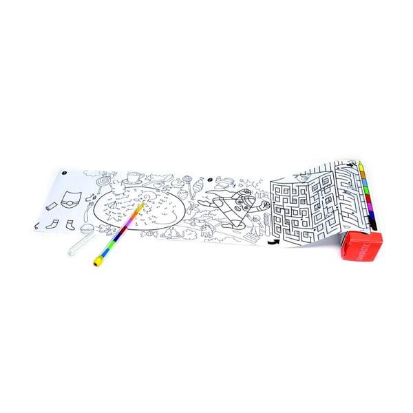 Vrecková maľovanka OMY Pocket Fantastic (30 x 42 cm)