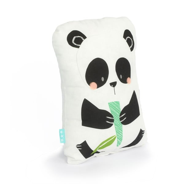 Bavlnený detský vankúšik Moshi Moshi Panda Gardens, 40 x 30cm