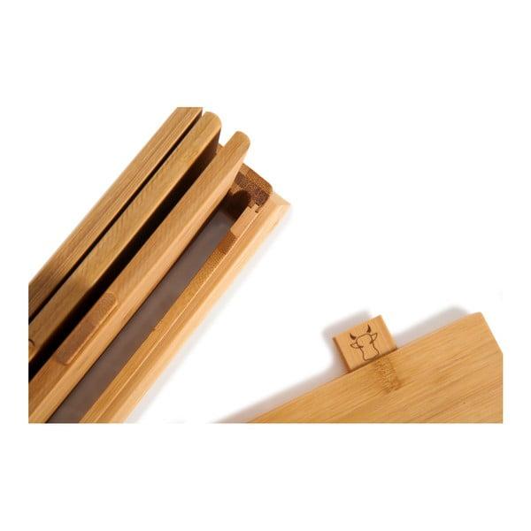 Sada 4 bambusových doštičiek so stojanom Bambum Tapenade