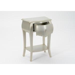 Nočný stolík Muran Silver