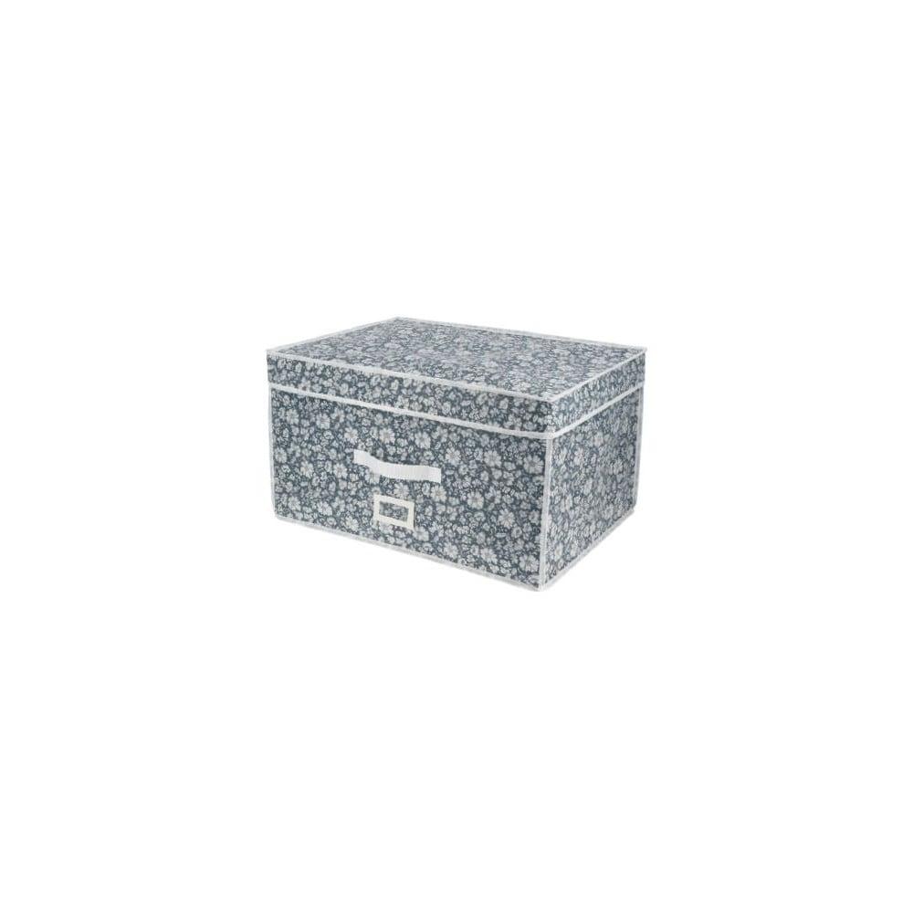 Modrý vakuový úložný box na oblečenie Compactor Signature Vicky 3D Vacuum Bag, 150 l