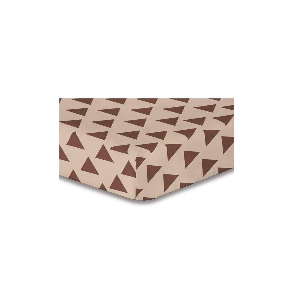 Plachta z mikrovlákna DecoKing Triangles, 160 × 200 cm