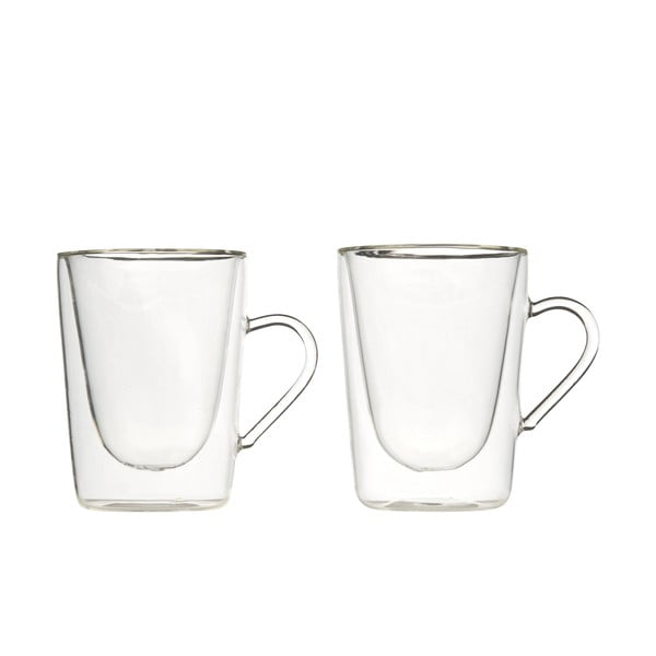 Sada 2 dvojstenných pohárov Bredemeijer Coffee&Tea, 295 ml