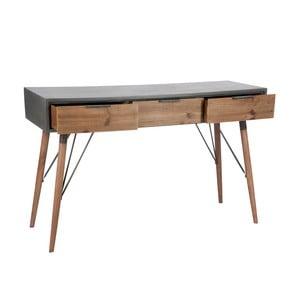 Odkladací konzolový stolík Vintage Grey, 122x40 cm