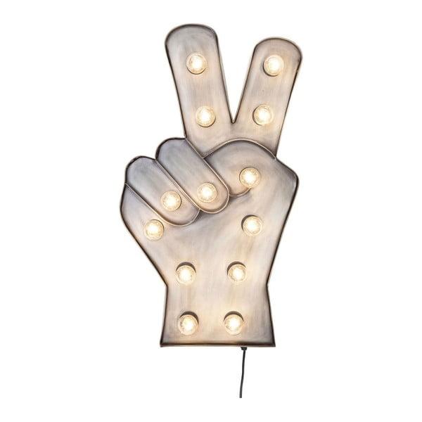 Nástenná LED dekorácia Kare Design Peace