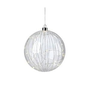 Závesná LED svietiaci dekorácia Markslöjd Attarp, ø 18 cm