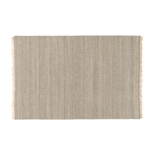Vlnený koberec Kyla Smoke, 80x300 cm