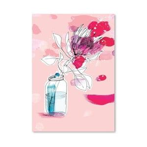 Plagát Vast Flower, 30x42 cm