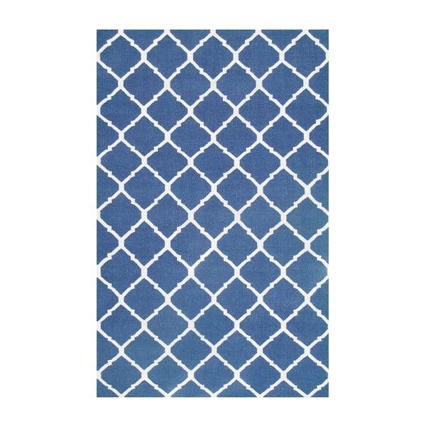 Vlnený koberec Julia Dark Blue, 155x240 cm