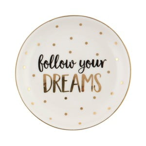 Keramický tanier Sass & Belle Follow Your Dreams