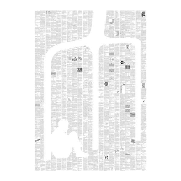 Knižný plagát Čudná príhoda so psom uprostred noci, 70x100 cm