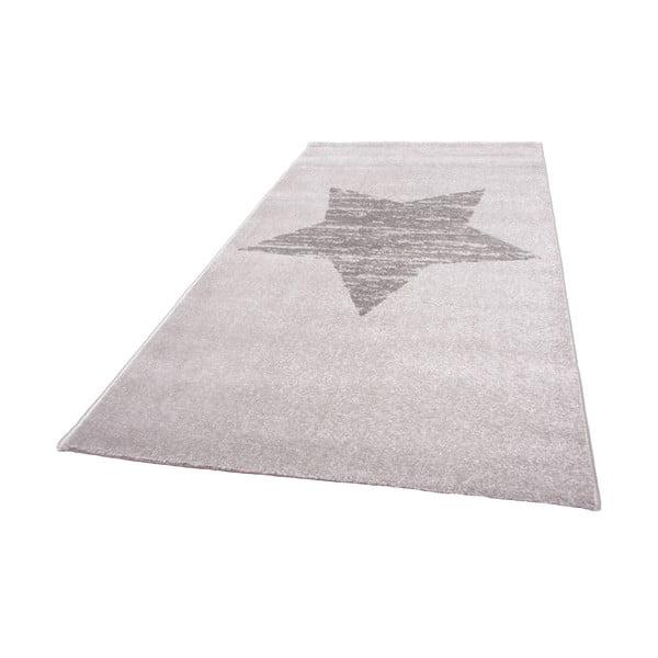 Detský sivý koberec Nattiot Lucero, 80x150cm