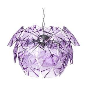 Fialové stropné svetlo Tomasucci Domus