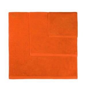 Sada 3 oranžových uterákov Artex Alfa