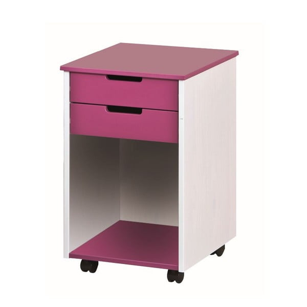Ružovo-biela komoda 13Casa Up