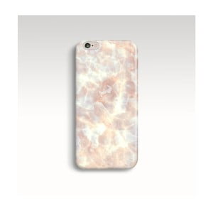 Obal na telefón Marble Powder Gold pre iPhone 6/6S