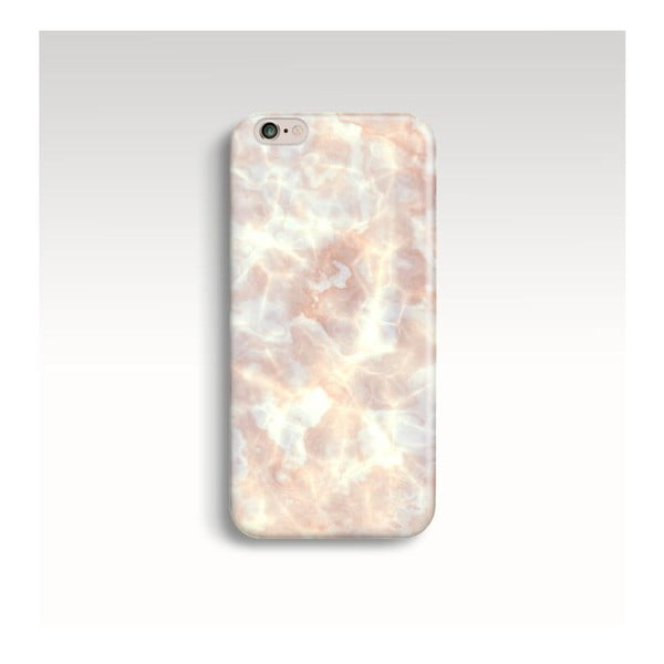 Obal na telefón Marble Powder Gold pre iPhone 6+/6S+