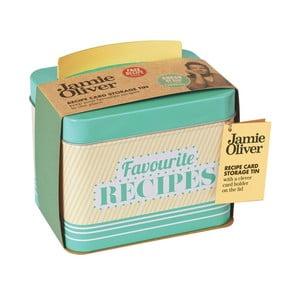 Krabička na recepty Jamie Oliver