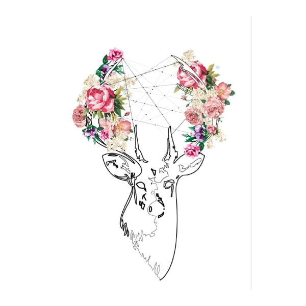 Obraz na plátne Deer, 70 x 100 cm