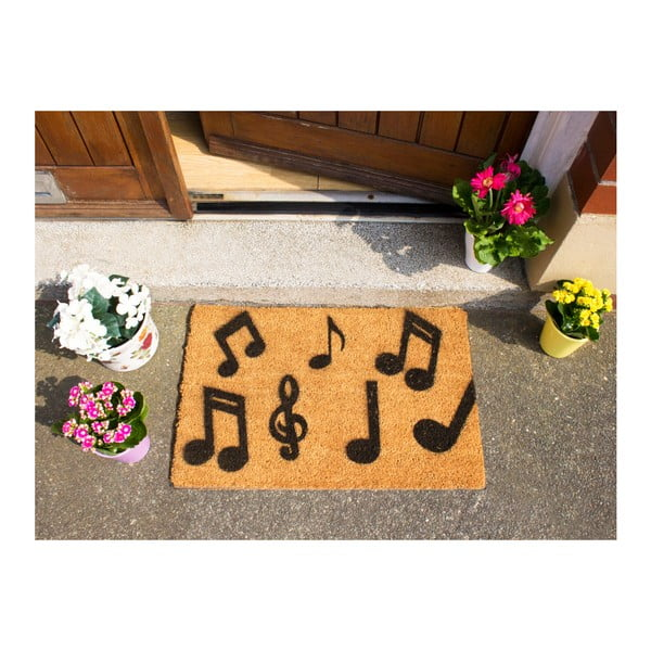 Rohožka Artsy Doormats Music Notes, 40 x 60 cm