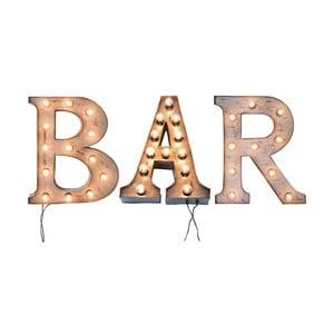 Nástenná svetelná dekorácia Kare Design BAR