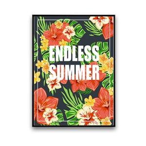 Plagát s kvetmi Endless Summer, 30 x 40 cm