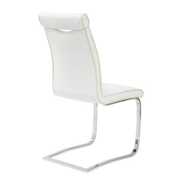 Jedálenská stolička Clarence, biela
