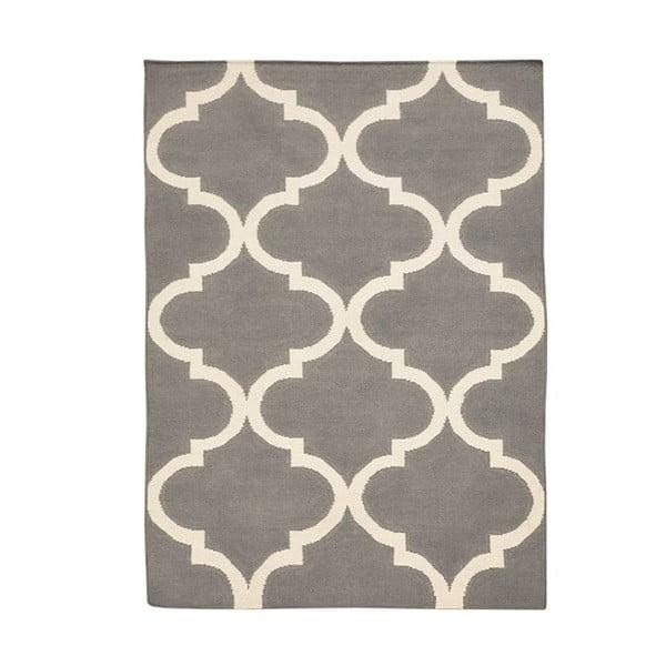 Vlnený koberec Bakero Caroline Grey,60x90cm