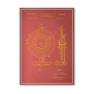 Plagát Roulette Wheel II, 30x42 cm