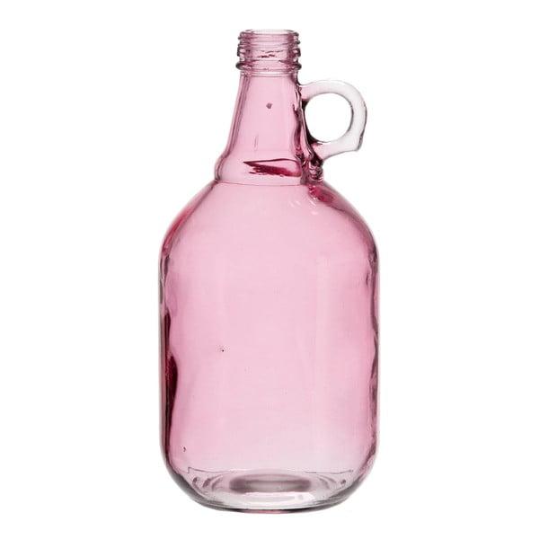 Sklenená váza Pinkie, výška 27 cm