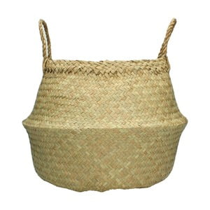 Prírodný ručne pletený kôš z morskej trávy HF Living, ⌀ 35 cm