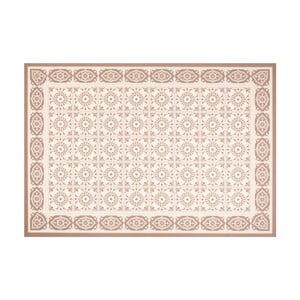 Hnedý vinylový koberec Zala Living Aurelie,195×120cm