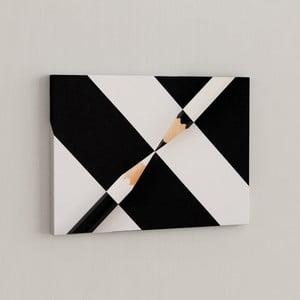 Obraz Bielo-čierne ceruzky, 50x70 cm
