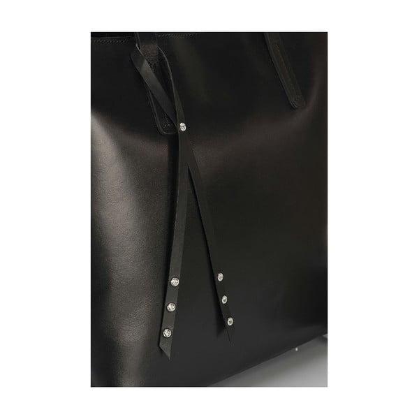 Kožená kabelka Giorgio Costa15005 Black