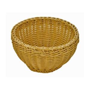 Béžový stolový košík Saleen, ø 16 cm