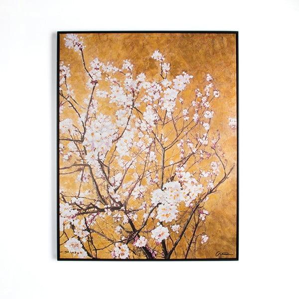 Ručne maľovaný obraz Graham&Brown Blossom, 90×70cm