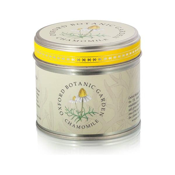 Vonná sviečka v plechovke s vôňou kamilky Bahoma London Fragranced, 35 hodín horenia