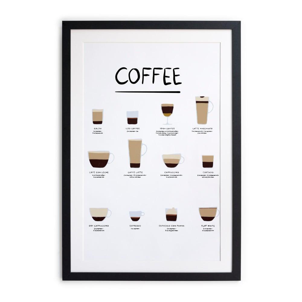 Nástenný obraz v ráme Really Nice Things Coffee, 35 x 45 cm