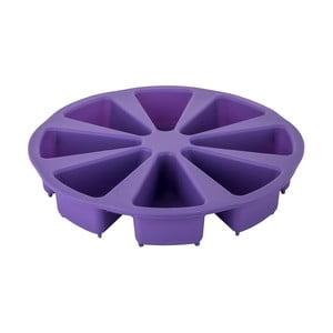 Fialová silikónová forma na naporcovanú tortu Tantitoni Dessert, ⌀ 27 cm