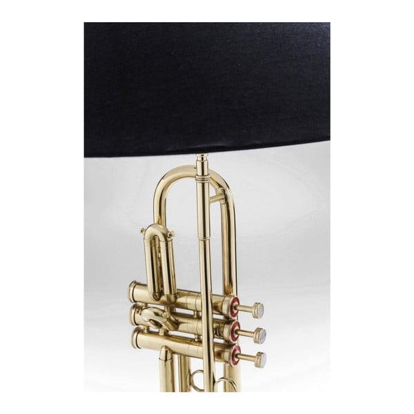Stolová lampa z leštenej mosadze Kare Design Trumpet