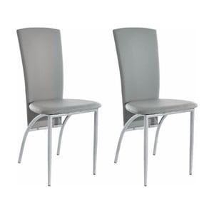 Sada 2 sivých jedálenských  stoličiek Støraa Nevada