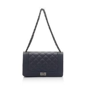 Modrá kožená kabelka Lisa Minardi Silviana