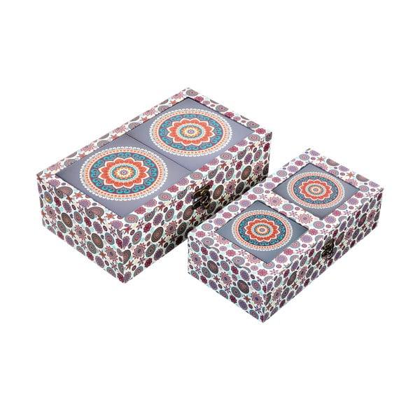 Sada 2 úložných krabičiek Energy
